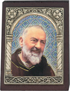 Desk Plaque: Padre Pio (PL27348)