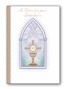 Mass Intention Cards (6): For Living: Chalice/Window (CDL7618)