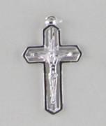 Sterling Silver Pendant: 20mm Crucifix (CR102)