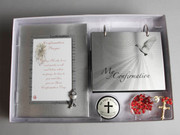 Confirmation Gift Set: Frame, Album & Rosary (GSF1643)