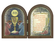 Communion Gift Plastic Bi-fold Plaque (PL1110CO)