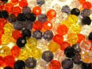 Imm. Swarovski Crystal Beads 6mm Round: MixA x 500