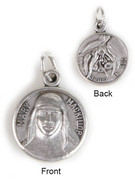 Pewter Medal 15mm: Mary MacKillop (MEMARY)