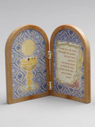 Communion Gift: Bi-fold Plastic Plaque (PL1111CO)