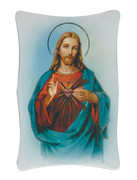 1269 Series Plastic Plaque: Sacred Heart of Jesus (PL126901)