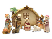 Kiddie Nativity Set 9 pieces 11cm (NS1852)
