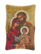 1269 Series Plastic Plaque: Holy Family Icon (PL126904C)