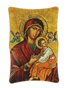 1269 Series Plastic Plaque: Our Lady Icon (PL126933)