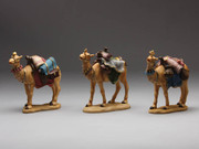 Set of 3 Camels 14cm (NST9483)