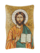 1269 Series Plastic Plaque: Christ the Teacher Icon (PL1269CT)