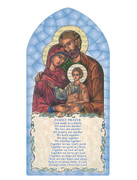 1268 Series Hanging Plaque: Holy Family (PL126804)