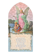 1268 Series Hanging Plaque: Guardian Angel (PL126810)