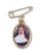 Lapel Medal/Pin, Mary MacKillop with pin