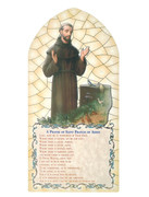 1268 Series Hanging Plaque: St Francis (PL126812)