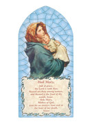 1268 Series Hanging Plaque: Hail Mary (PL126840)