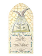 Hanging Plaque: Confirmation (PL1268CF)
