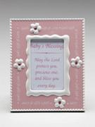 """Baby Gift: Girl Frame """"God's Gift...""""(PLB1128)"""
