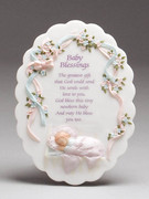 Baby Gift: Baby Blessing Plaque (PL27006F)