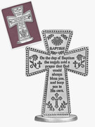Standing Message Cross: Baptism