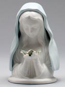 Porcelain Statue, Blue Madonna (ST27350)