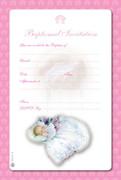 Invitation Set: Baptism Girl
