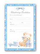 Invitation Set: Christening Boy