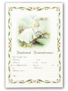 Certificates: Baptism BABY (CEB1280)