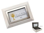Communion Gift Brown Keepsake Box (PLC5122)