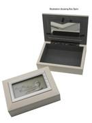 Communion Gift White Keepsake Box(PLC2644)