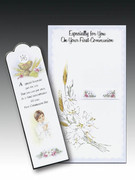 Communion Cards (each): Bookmark Boy