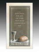 Communion Cards (each): Chalice and Loaf (CDC6611e)