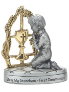 Communion Metal Statue: Grandson (CF304)