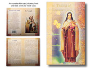 Mini Lives of Saints: St Therese of Liseaux (LF5341)