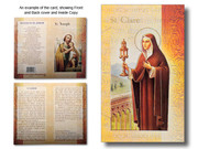 Mini Lives of Saints: St Clare (LF5426)