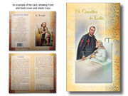 Mini Lives of Saints: St Camillus de Lellis (LF5414)