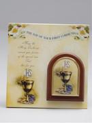Communion Set: Plaque & Certificate