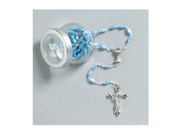 Communion Rosary: Pearl Blue (RX33030B)