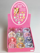 Display Box/Set: Birthstone Spiral Bracelet (24)(RB0076)