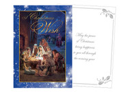 Quality Christmas Cards pack 12 Traditional (CD97210)