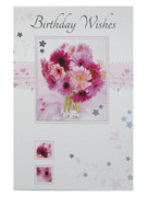 Packet Cards: Birthday Floral (6) (CD23221)