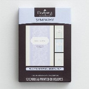 Boxed Cards (12): Sympathy Simple Sentiment (CB86070)