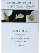Packet Cards (6): Heartfelt Sympathy (CDS7748)