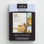 Boxed Cards(12): Get Well Max Lucado Castle (CB37120)