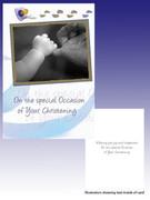 Packet Cards (6): Christening: Boy / Hand (CDB7168)