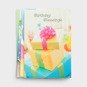 Boxed Birthday Cards: Blessed & Bright (CB45207)