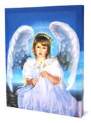 Sandra Kuck Canvas: Angel Prayer
