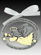 Crib Medal: Guardian Angel Glow in Dark