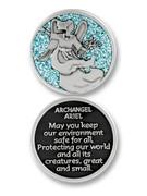 Glitter Coin: Archangel Ariel (PT630)