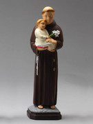 Indoor/Outdoor Statue: St Anthony 30cm (STF3011)