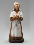 Indoor/Outdoor Statue: St Bernadette (kneeling) 25cm(STF2527)